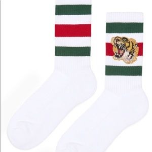 Other - Gucci Stretch-Cotton Socks w/Tiger